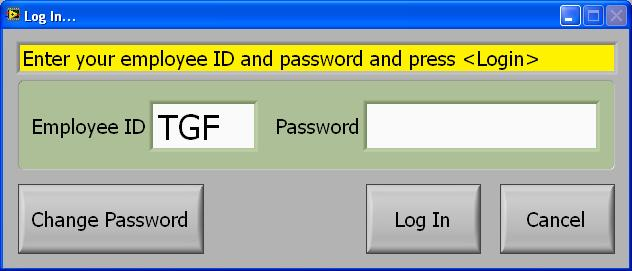 Security & Passwords with LabVIEW