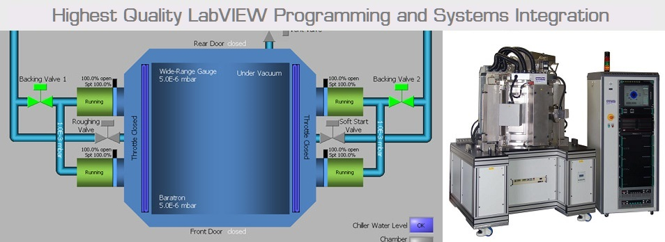 Expert LabVIEW Consultant Systems Integrator