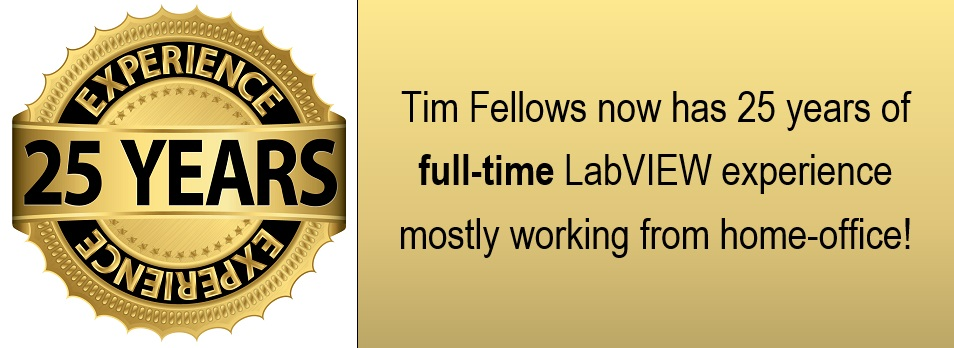 LabVIEW Consultant with 25 years experience